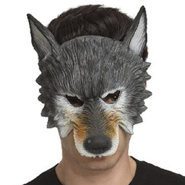 Mascarilha Lobo Cinzento