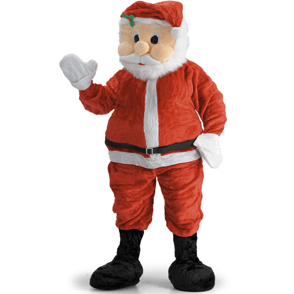 Mascote Pai Natal