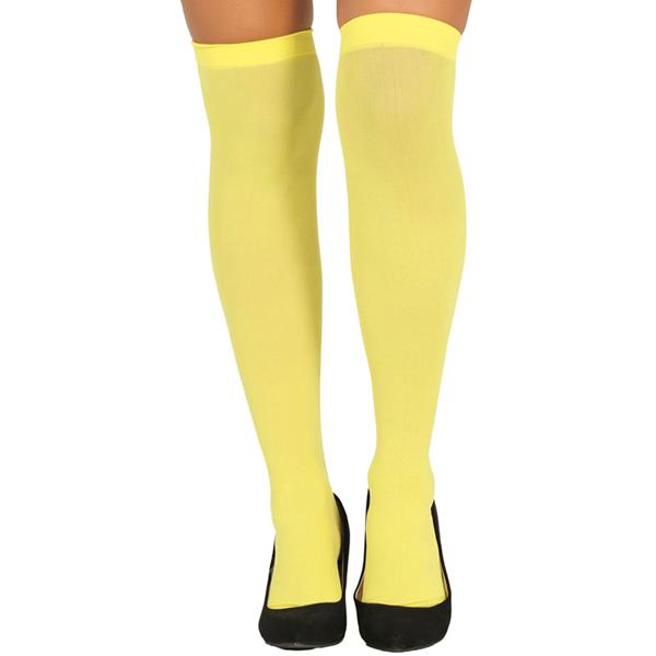 Meias Amarelo Neon