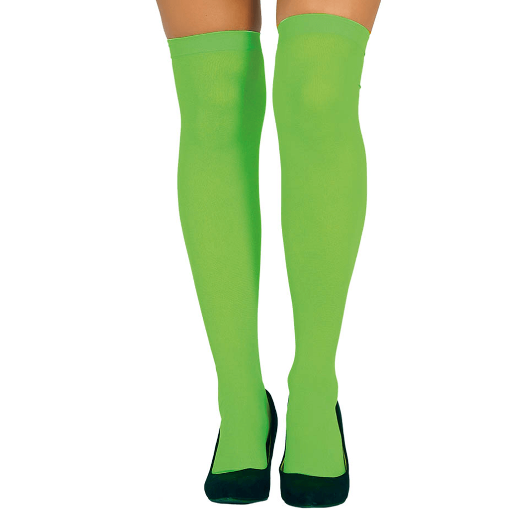 Meias Verde Neon