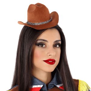 Mini Chapéu Cowboy, Adulto