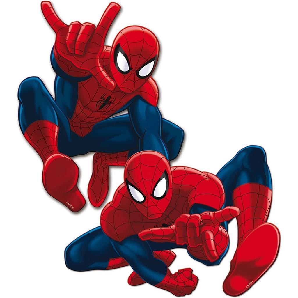 Mini Figuras Decorativas Homem Aranha, 2 unid.