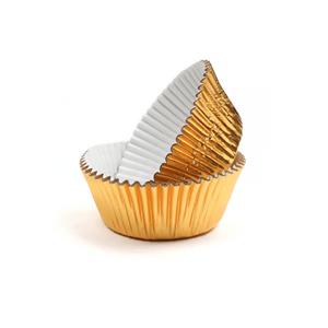 Mini Formas Douradas, 75 unidades