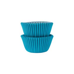 Mini Formas em Papel Azul, 100 unid.