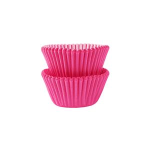 Mini Formas em Papel Rosa, 100 unid.