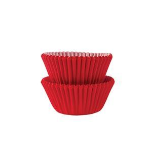 Mini Formas Vermelhas, 100 unid.
