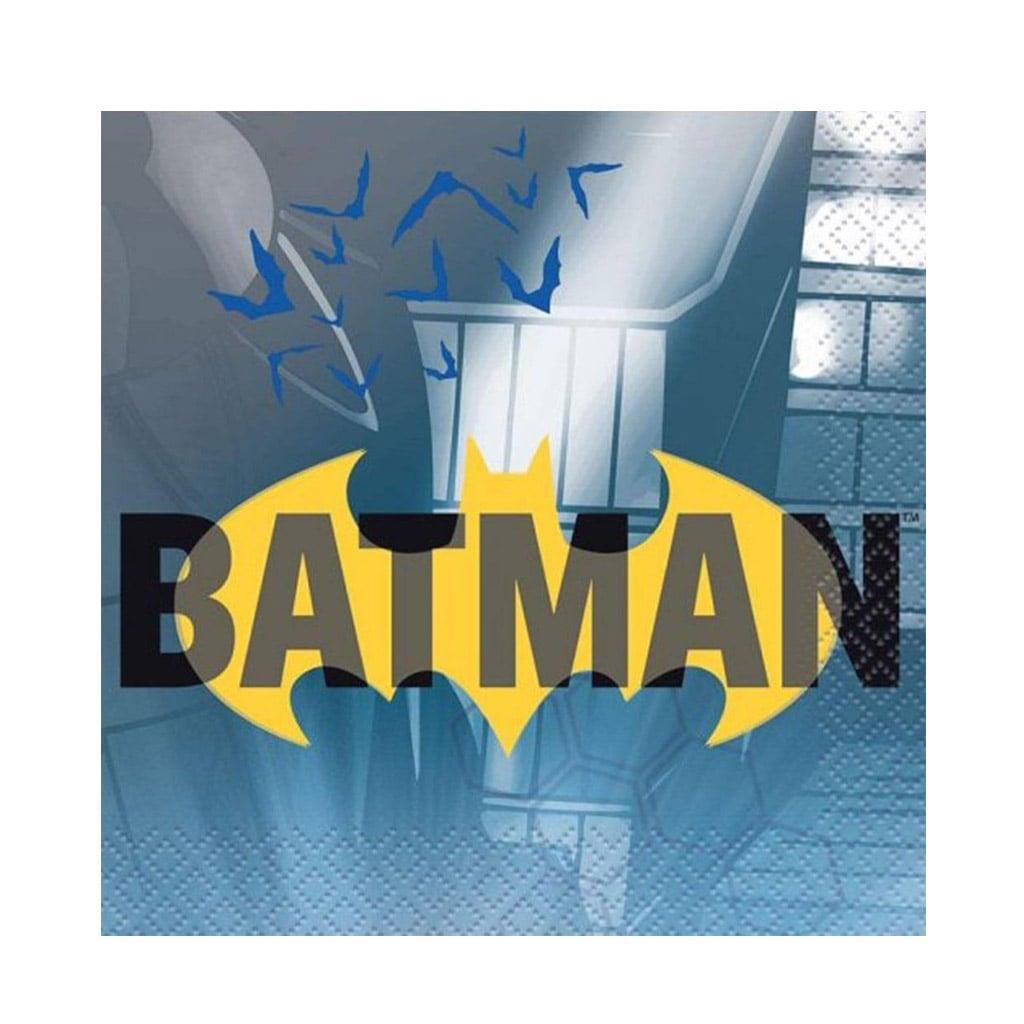 Mini Guardanapos Batman, 16 unid.