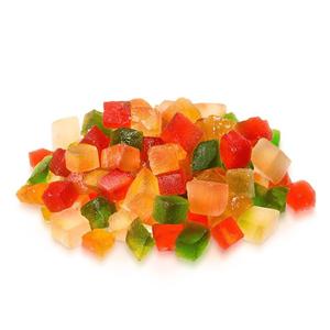 Mix Fruta Cristalizada Sortida Picada, 500 GR
