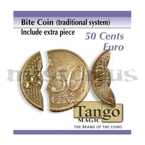 Moeda Mordida de 0.50 EUR- by Tango Magic