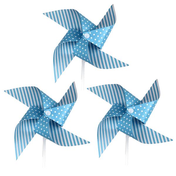 Moinho de Vento Azul, 3 Unid.