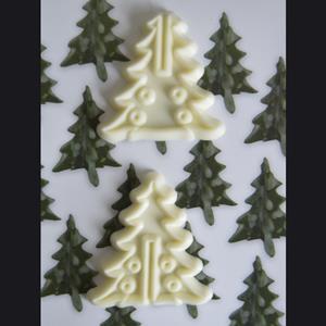Molde Árvore de Natal 3D, 2 unid.