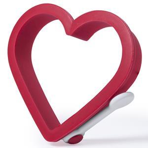 Molde Coração Vermelho, 9 Cm
