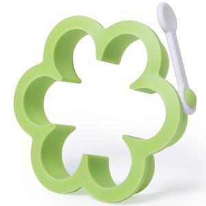 Molde Flor Verde, 10 cm