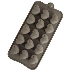 Molde Silicone para Bombons Corações