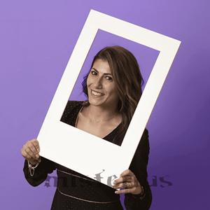 Moldura Photobooth Personalizável 59 x 38 cm