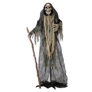 Monstro Esqueleto com luz e som, Halloween