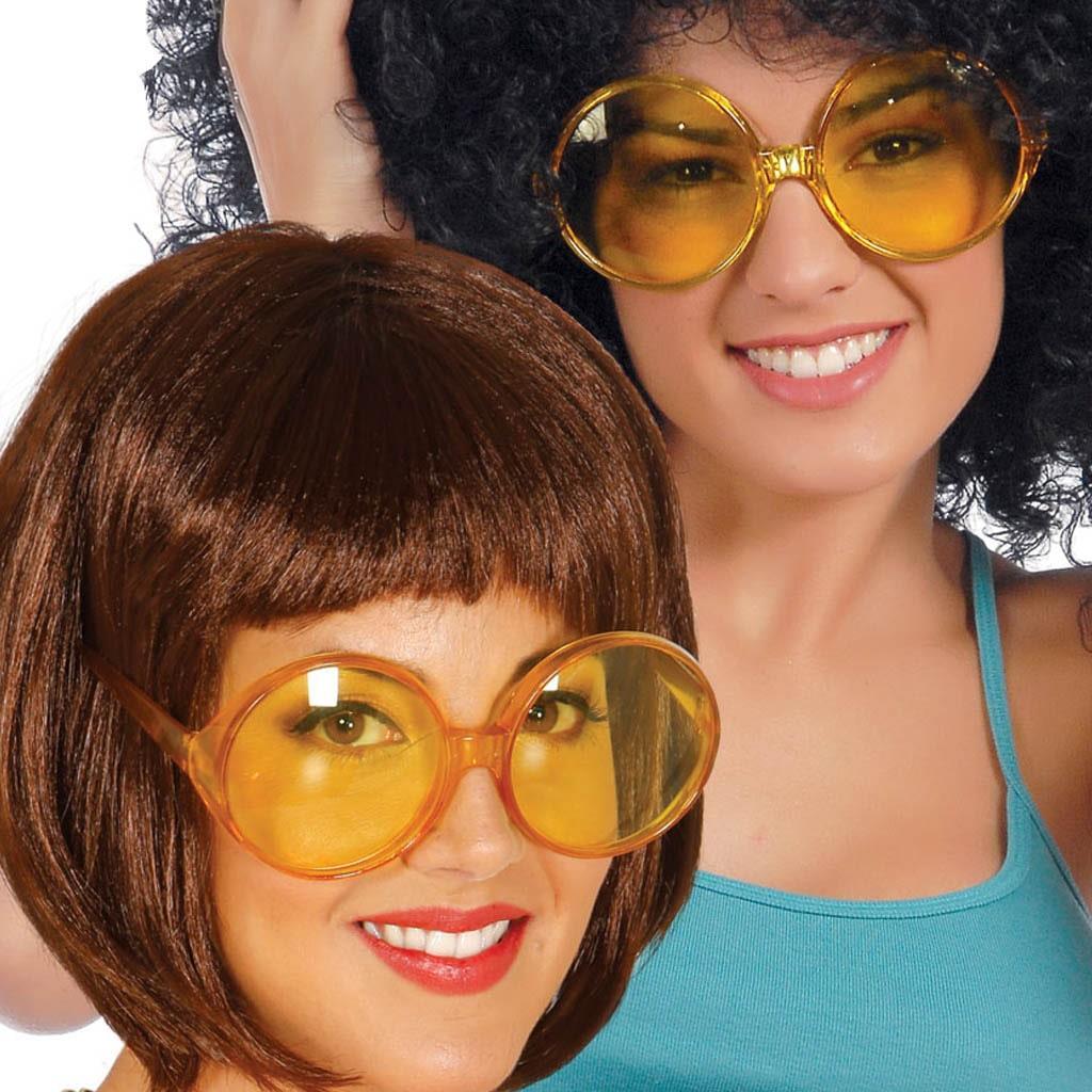 Óculos Amarelos Anos 70