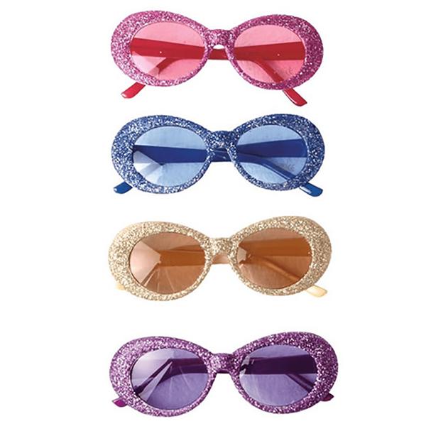 Óculos Brilhantes Redondos