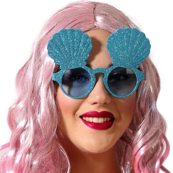 Óculos Concha do Mar Azuis