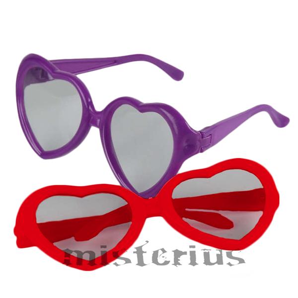 Óculos Coração, 2unid.
