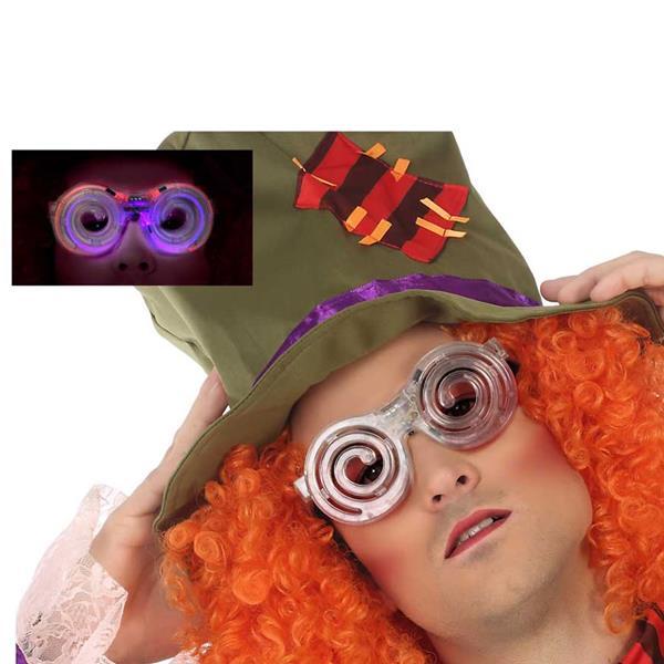 Óculos Luminosos Chapeleiro Louco