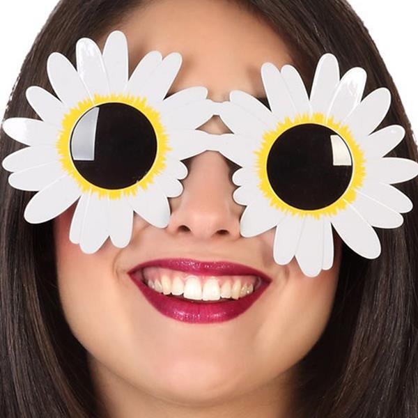 Óculos Margaridas Brancas