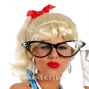 Óculos Pretos Anos 20