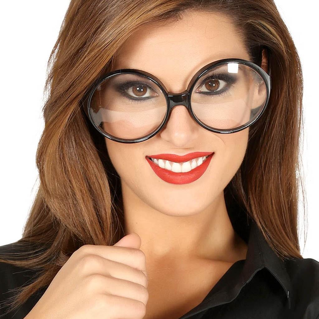 Óculos Pretos Secretária