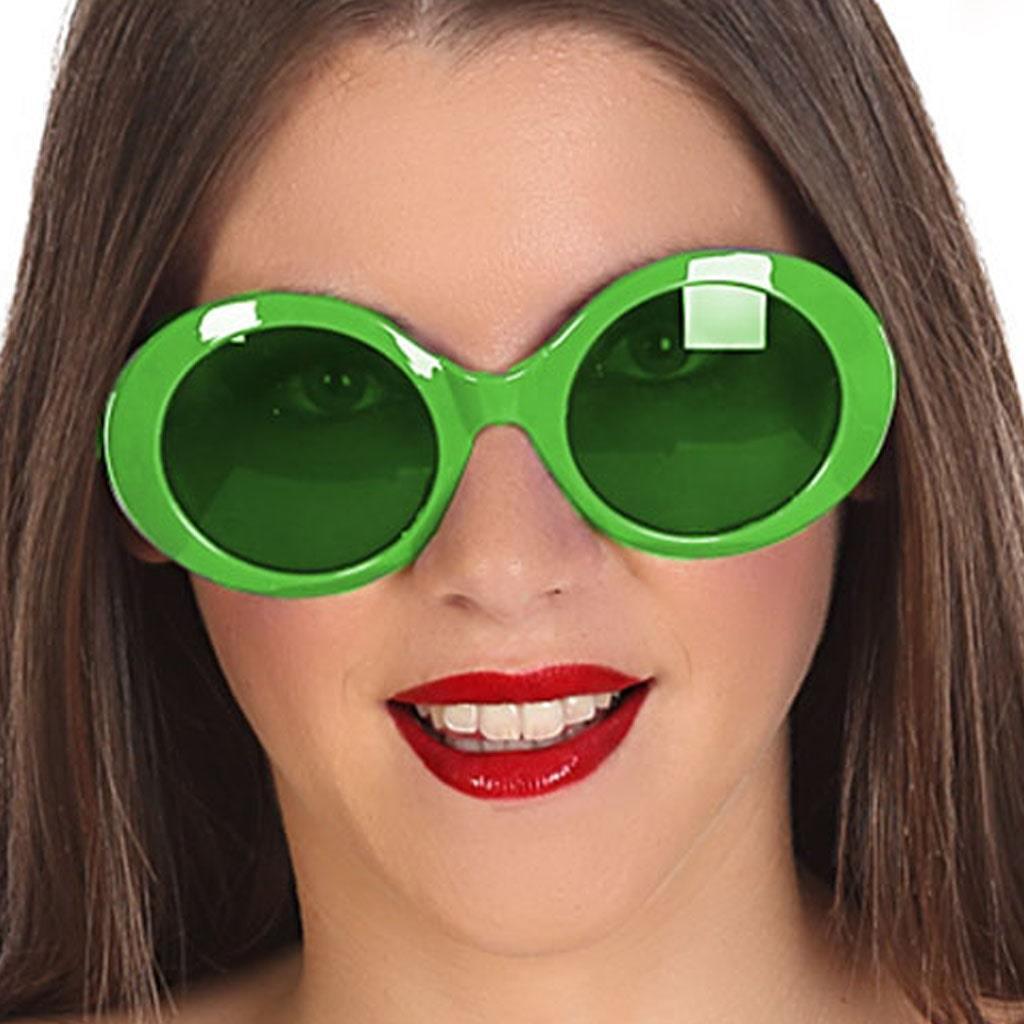 Óculos Verdes Fluorescentes Anos 20