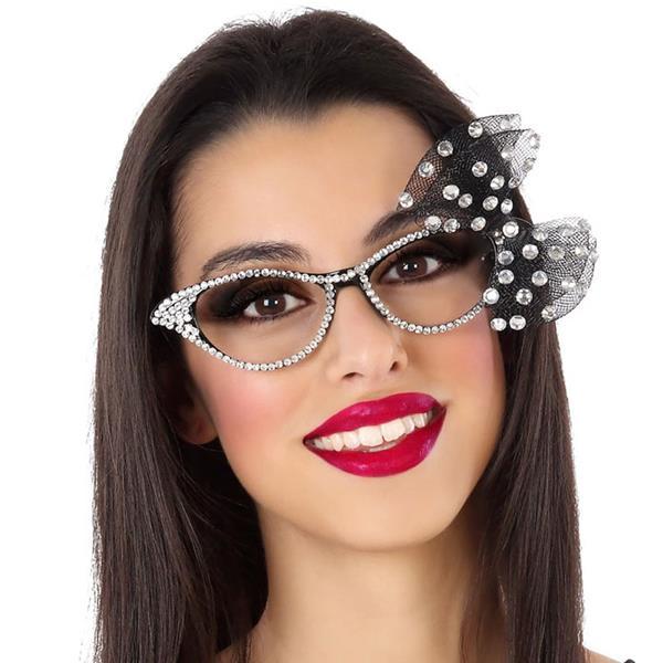 Óculos Vintage com Laço