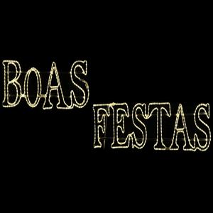 Painel Boas Festas 450x85cm