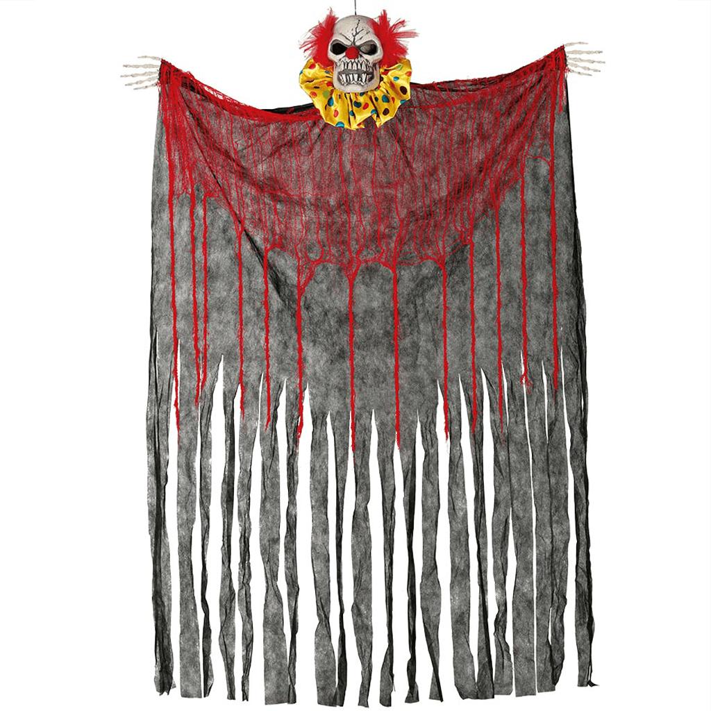 Palhaço Diabólico com Cortina, 180 x160 cm