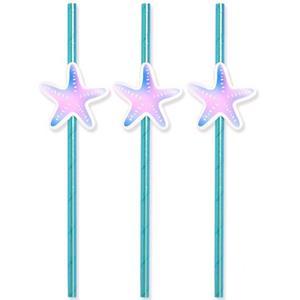 Palhinhas Estrelas do Mar Iridescentes, 8 unid.
