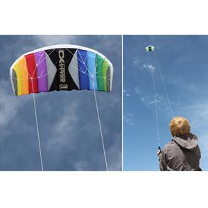 Papagaio de vento Pilotável Paraquedas