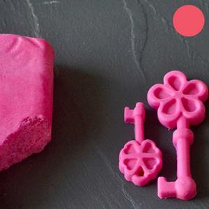 Pasta de Açúcar Rosa Choque 250 Gr.