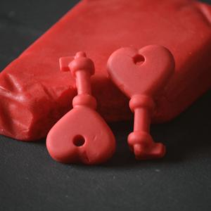 Pasta de Açúcar Vermelho 250 Gr.