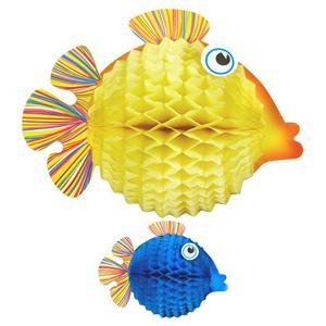 Peixes Balão Decorativos, 2 unid.