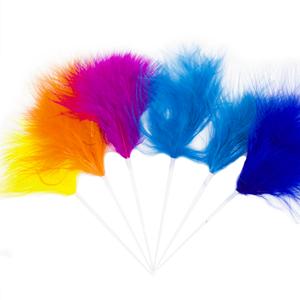 Penas Coloridas, 6 Unid.