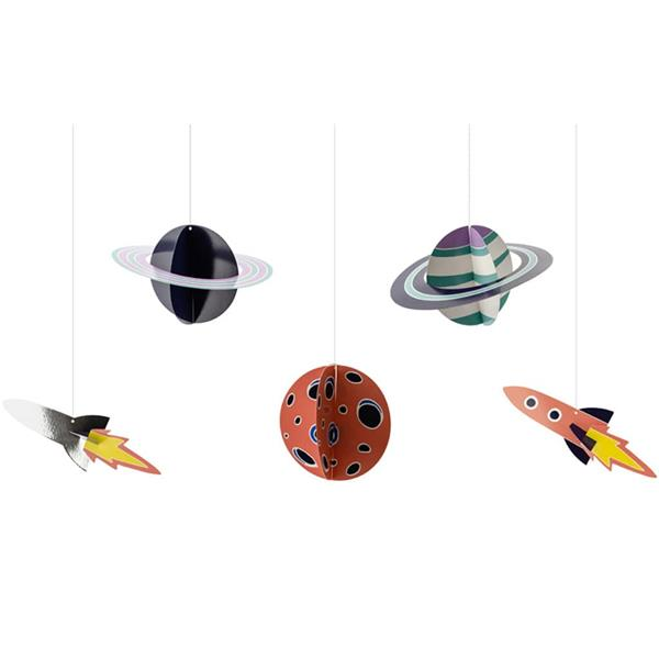 Pêndulos Espaço, 5 unid.