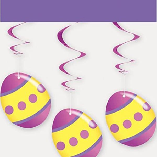 Pêndulos Ovos Coloridos