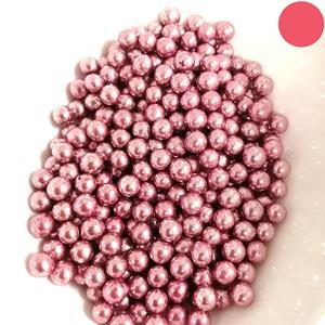 Pérolas Rosa Metalizado, 75 gr