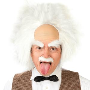 Peruca Albert Einstein