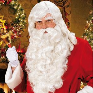 Peruca Barba Pai Natal Luxo