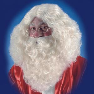 Peruca e Barba Pai Natal