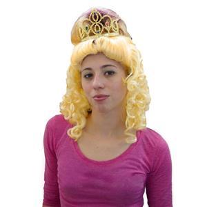 Peruca Dois Tons Encaracolada com tiara