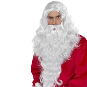 Peruca e Barba Longa Pai Natal