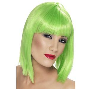 Peruca Fluorescente Verde