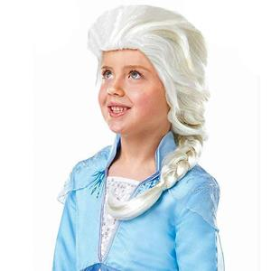 Peruca Frozen Princesa do Gelo Elsa, criança
