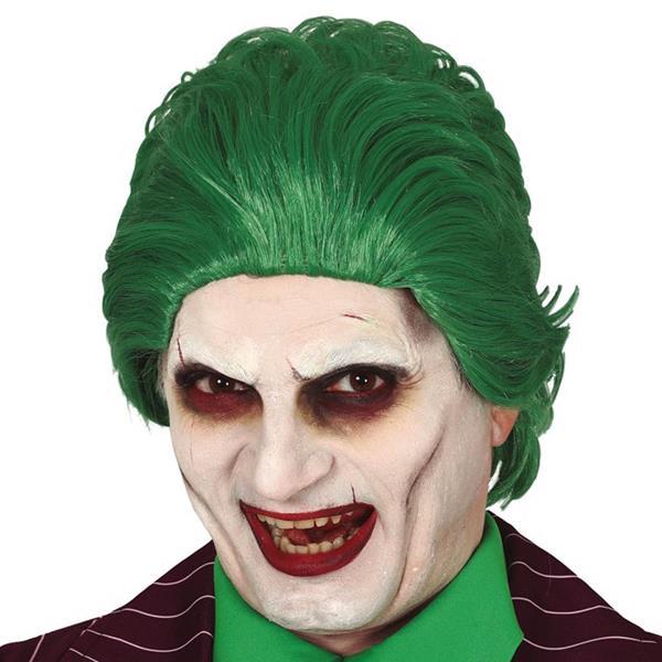 Peruca Joker Verde, Adulto