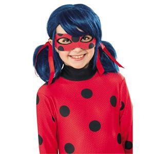 Peruca LadyBug Criança